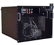 rack mount chiller manufactured by Opti Temp