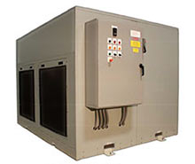 Large refrigerated water chiller